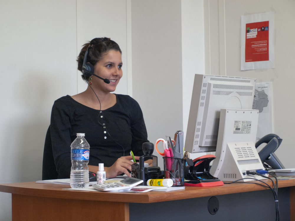 Dounia, bénévole depuis janvier 2018
