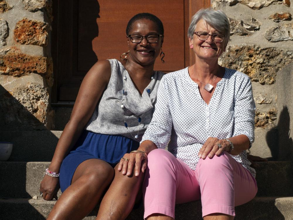 Marie-France, bénévole au GLS Porchefontaine