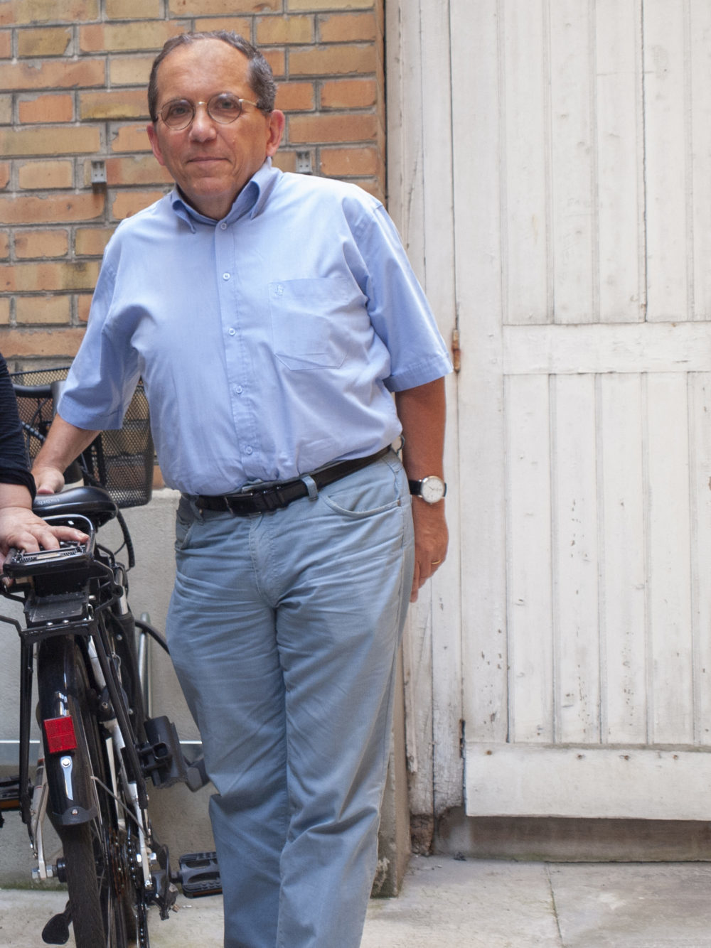 Patrick, bénévole depuis 1 ans et demi, GLS Levallois